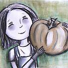 Pumpkin Girl by Rosie Harriott
