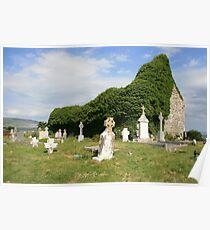 Ballyvaughan church ruins Poster