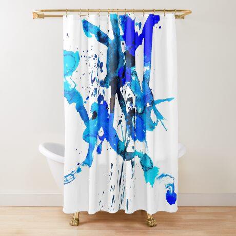 BAANTAL / Patch #9 Shower Curtain