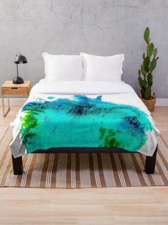BAANTAL / Patch #11 Throw Blanket