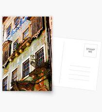 another Portuguese facade Postcards