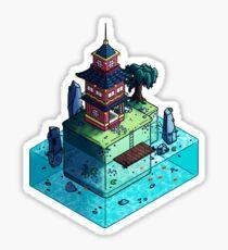 Lone Temple Sticker