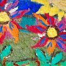 Wool Flowers by JennAshton