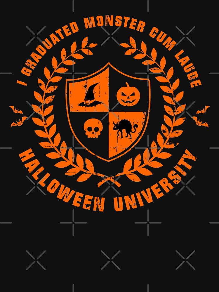 Halloween University (Worn Orange) [Roufxis-RB] by RoufXis