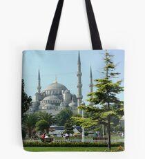 Blue Mosque Tote Bag