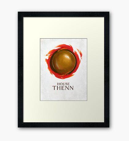 House Thenn Framed Print