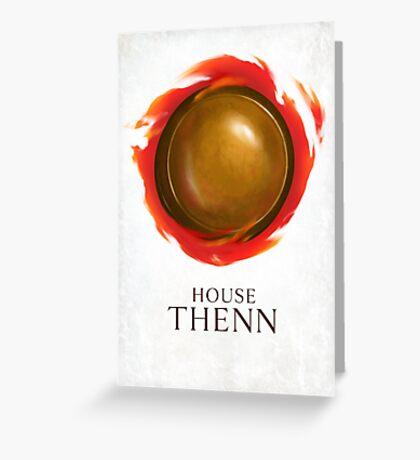 House Thenn Greeting Card