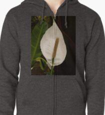 Anthurium Zipped Hoodie