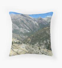Queenstown hills Throw Pillow