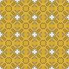 Ethnic pattern in yellow by AbsentisDesigns