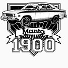 Opel Manta 1900 by CoolCarVideos