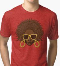 Afro Cool Tri-blend T-Shirt