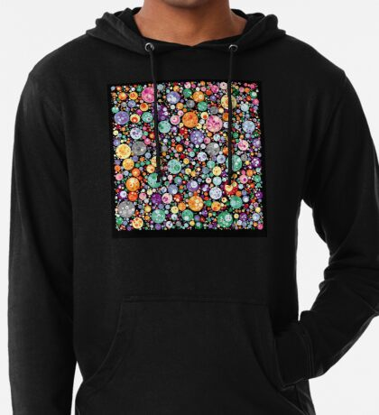 Points on a circle 018 Lightweight Hoodie