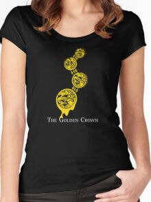 The Golden Crown Women's Fitted Scoop T-Shirt