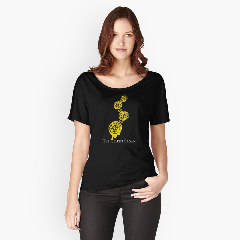 The Golden Crown Women's Relaxed Fit T-Shirt Front
