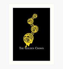 The Golden Crown Art Print