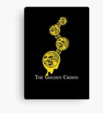 The Golden Crown Canvas Print