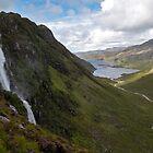 Eas a' Chual Aluinn Waterfall by derekbeattie