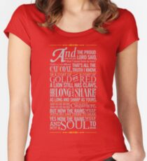 The Rains of Castamere Women's Fitted Scoop T-Shirt