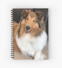 Beautiful Rough Collie  Spiral Notebook