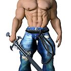 Hero-Hunk with sword by 3D-Warrior