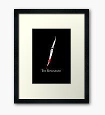 The Kingsroad Framed Print
