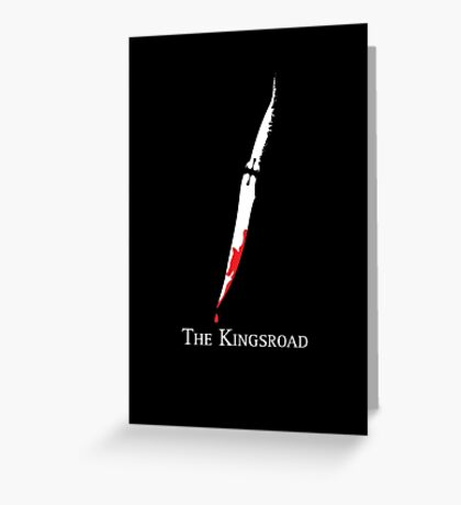 The Kingsroad Greeting Card