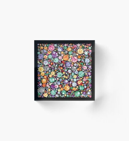 Points on a circle 018 Acrylic Block