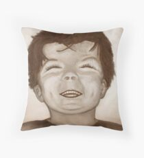 Felix - Happy and prosperous Throw Pillow