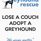 Lose a Couch by GreyhoundRescue