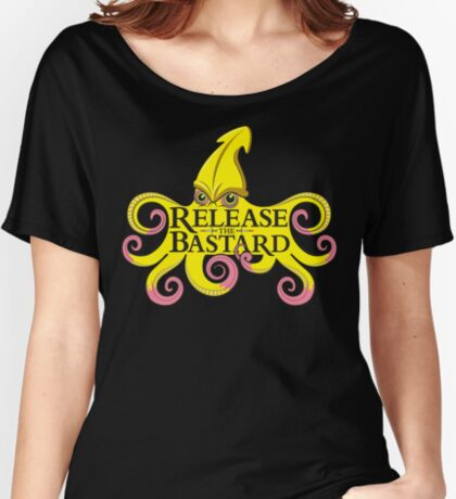 Release The Bastard (on black) Women's Relaxed Fit T-Shirt