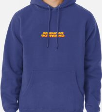 american boyfriend kevin abstract Pullover Hoodie