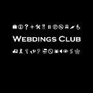 Webdings Club Symbols for Computer Geeks Monotone Dark by TinyStarAmerica