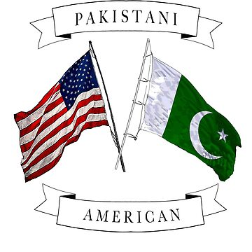 Pakistani American ancestry flag design by jhussar