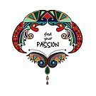 Find Your PASSION - Inspirational Art by Renee Dawson