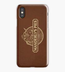 Manderly's Pies (in tan) iPhone Case/Skin