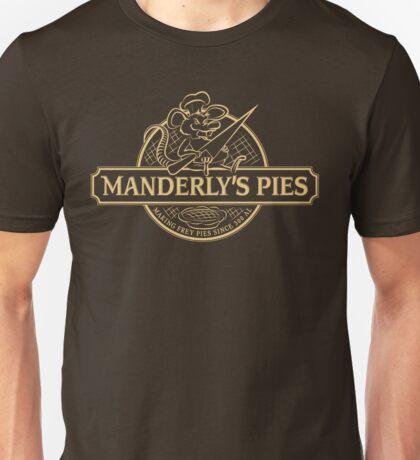 Manderly's Pies (in tan) Unisex T-Shirt
