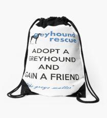 Gain a Friend Drawstring Bag