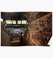 Póster Cubierta de vuelo Concorde