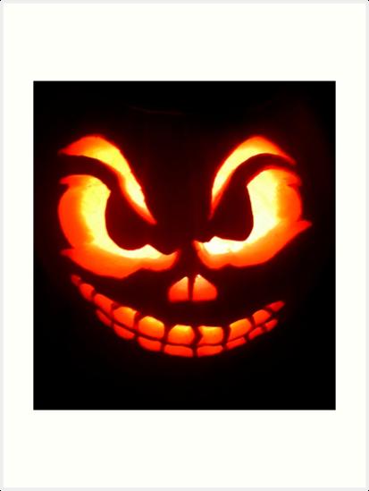 Smiling Jack O' Lantern by Brownbag