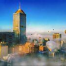 Misty Morning by Ray Warren