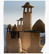 Spanish Chimneys Poster