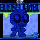 Retro Blue Hornet by Ricky.Angelo Pasco