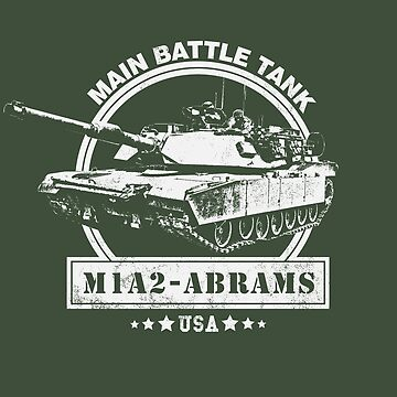 M1A2 Abrams – Main Battle Tank  by RycoTokyo81