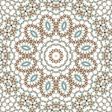 Multi-colored ornament 19 by fuzzyfox