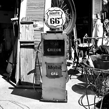 Route 66 Gas by Michiale