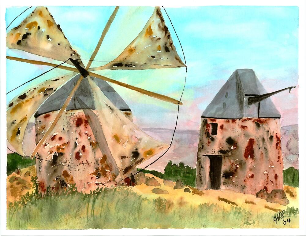 Windmills by Joyce Sousa