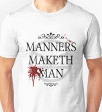 Manners Maketh Man Unisex T-Shirt