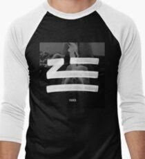Camiseta ¾ bicolor para hombre Zhu se desvaneció.