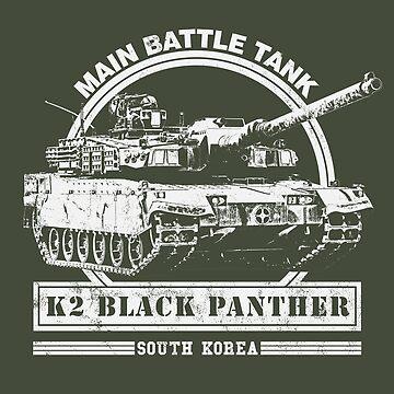 K2 Black Panther - Main Battle Tank  by RycoTokyo81